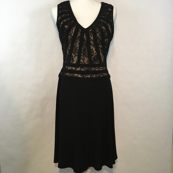 Adrianna Papell Dresses   Womens Cocktail Dress Black   Poshmark